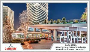 X-TEND Korkuluk - Zorlu Center